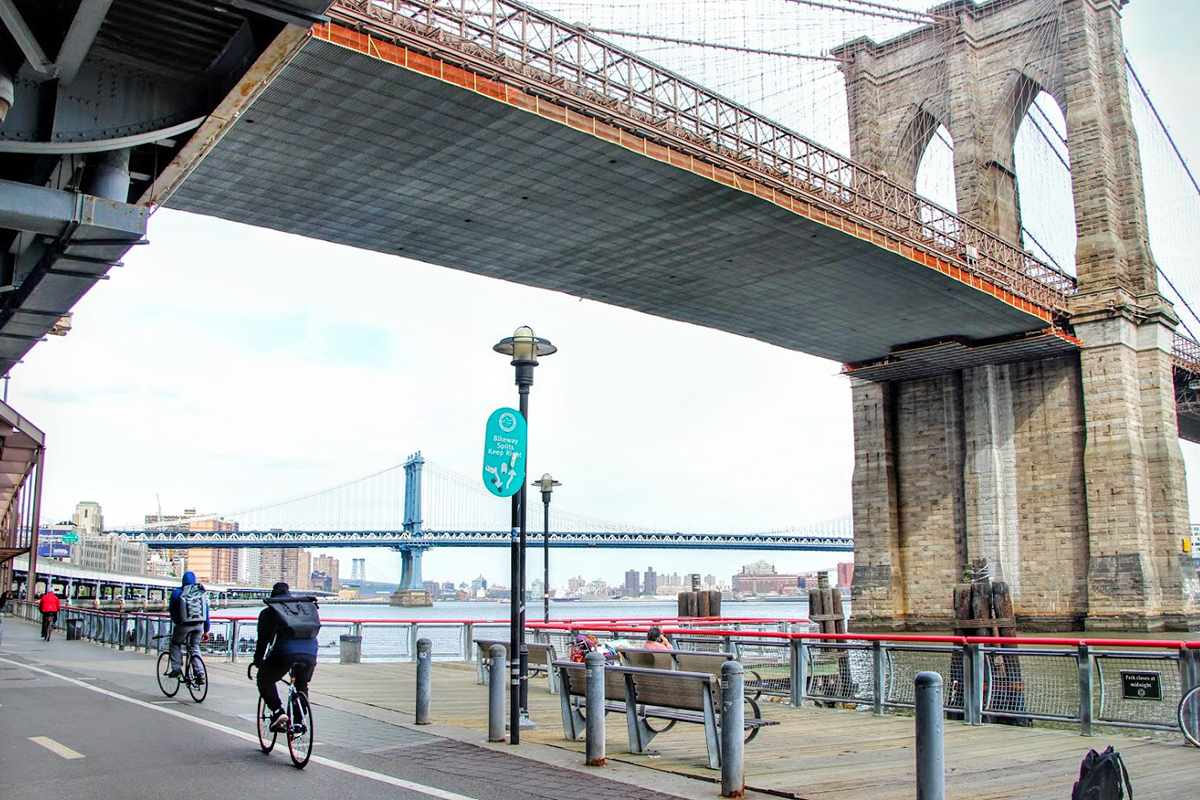 east river bikeway bridge