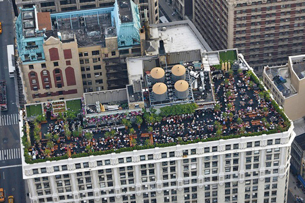 murray hill best rooftop bars 230 fifth aerial