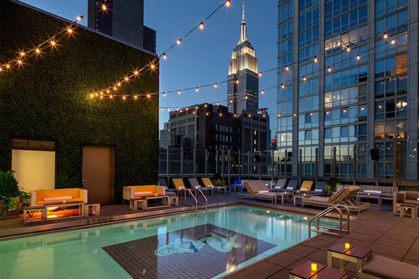 murray hill best rooftop bars gansevoort park avenue pool