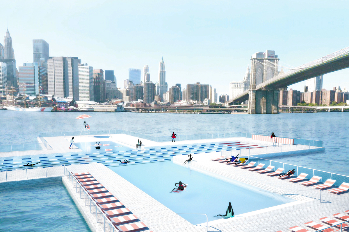 east river plus pool rendering
