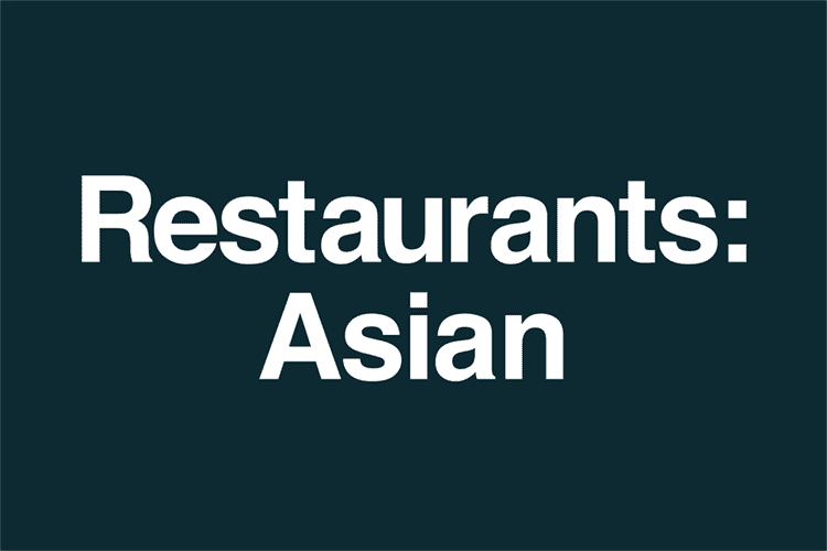 Restaurants Asian