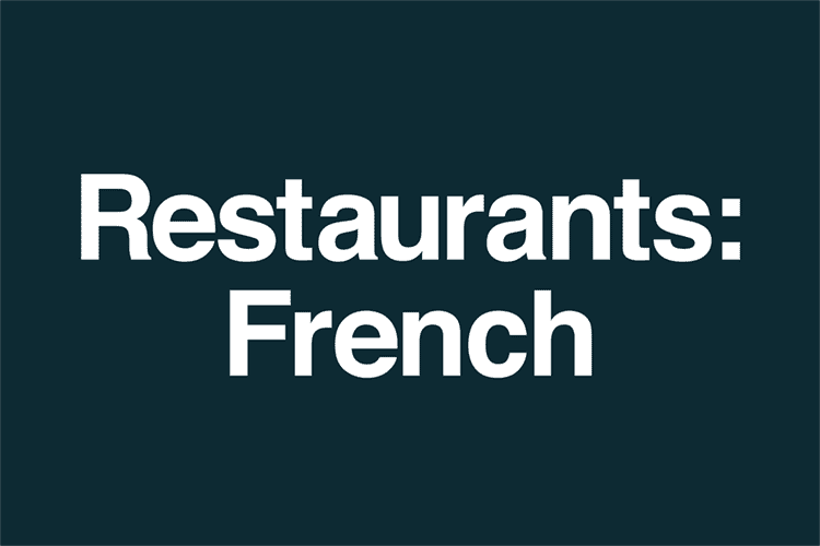 Restaurants French