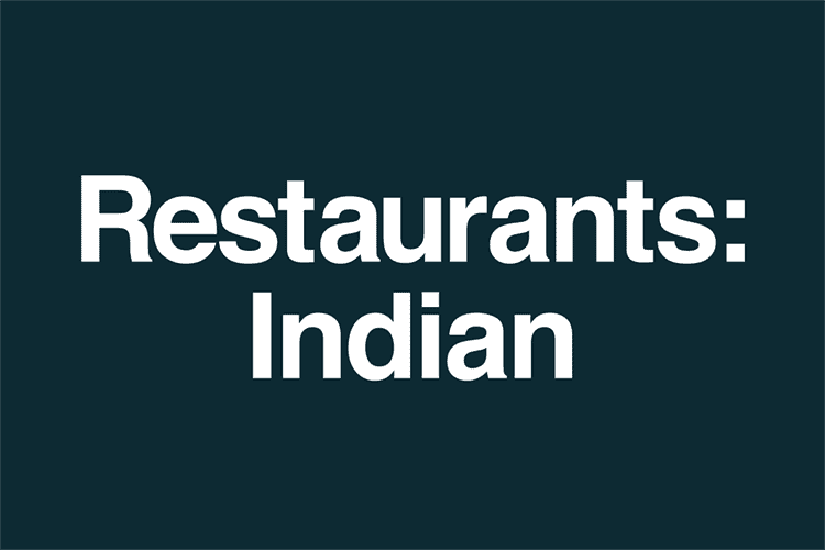 Restaurants Indian