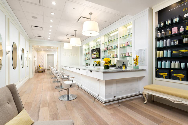salon interior Dry Bar