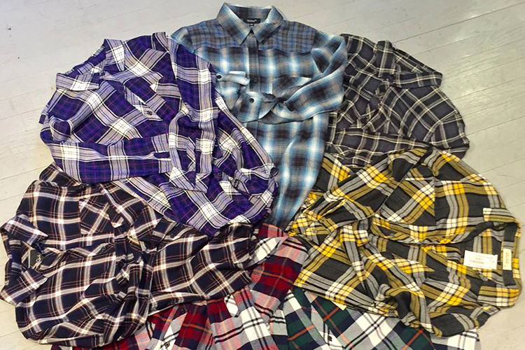 plaid shirts French Corner