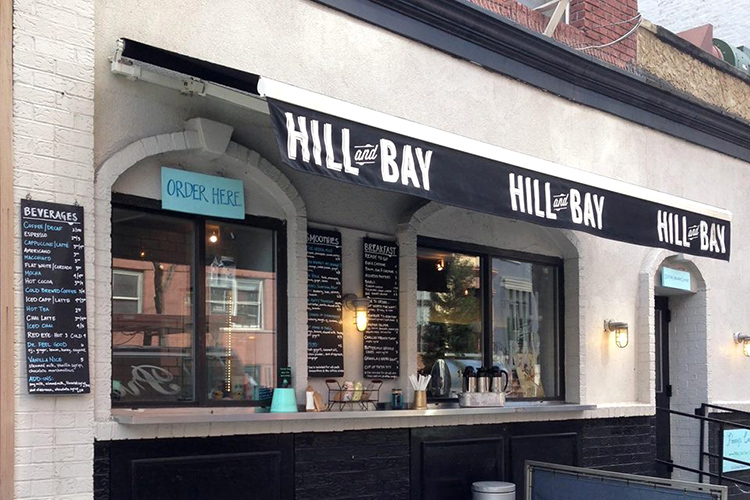Hill and Bay