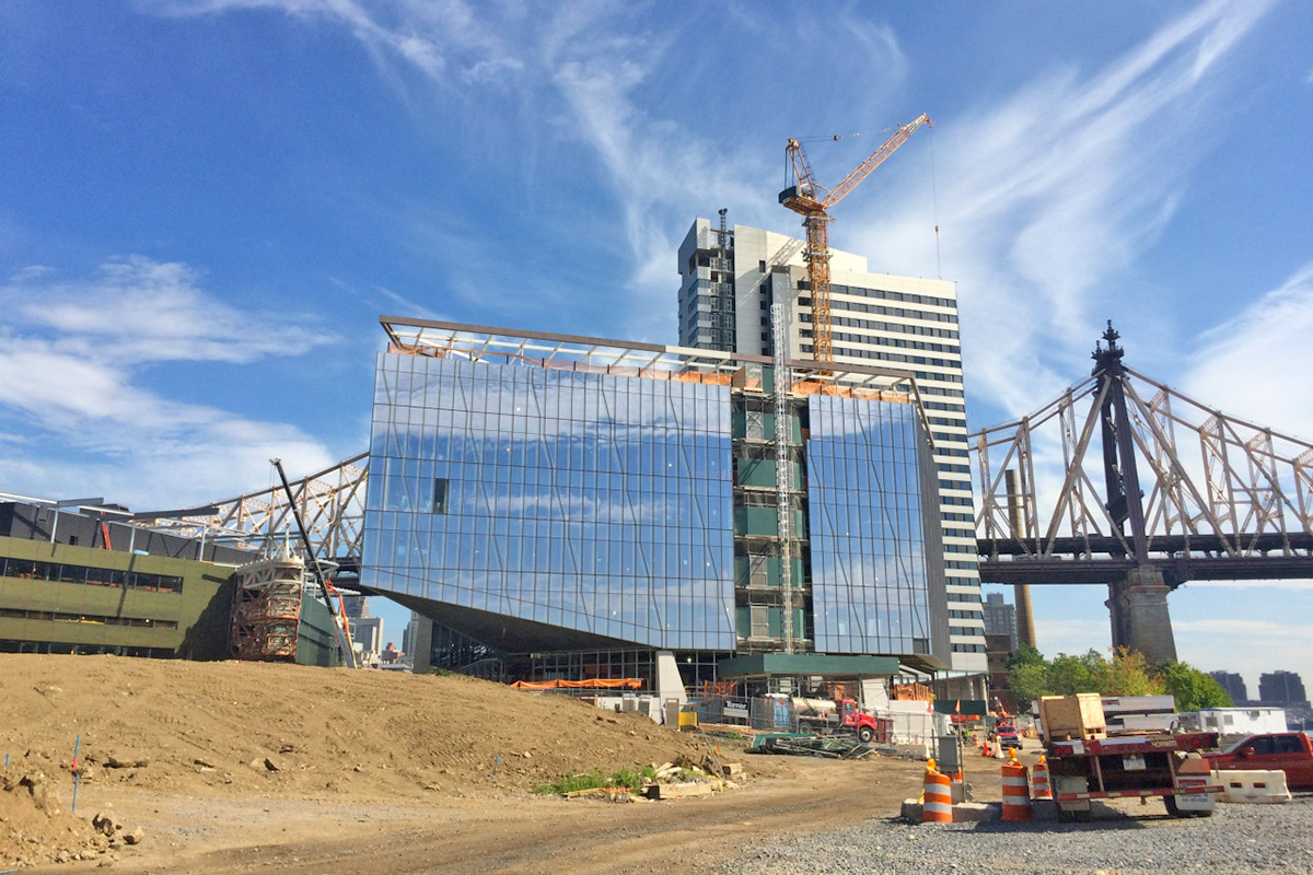 cornell tech roosevelt island construction