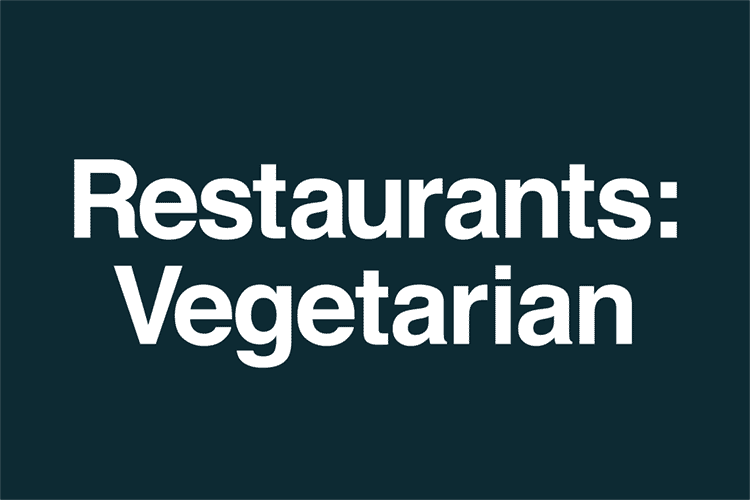 Restaurants Vegetarian