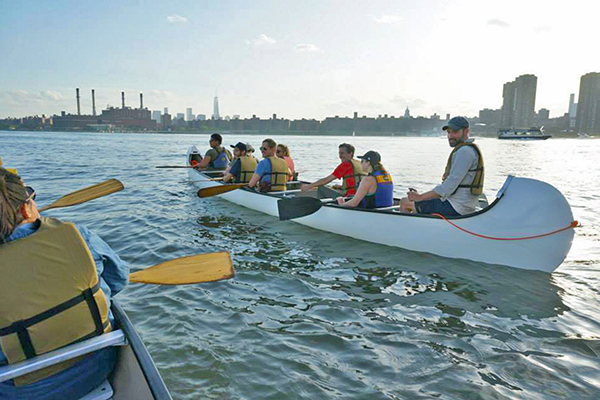 east river kayak north brookln boat club