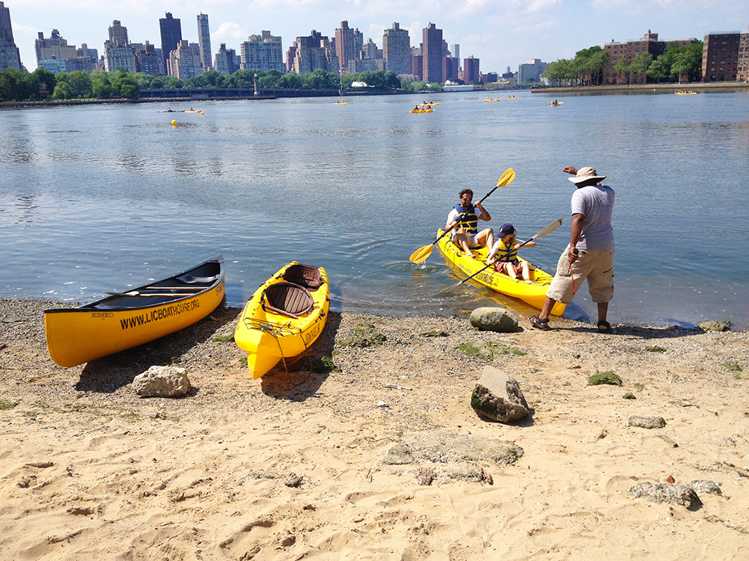 east river kayak long island city community boathouse