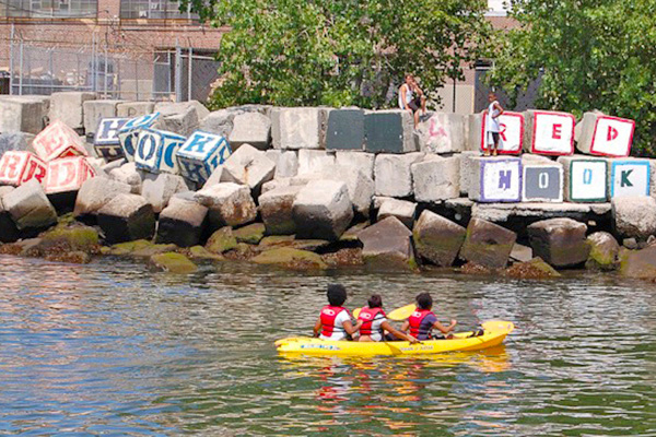 east river kayak red hook boaters